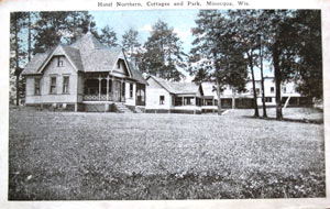 Historic Northern Resort Cottages - now Nitchke's Northern Resort